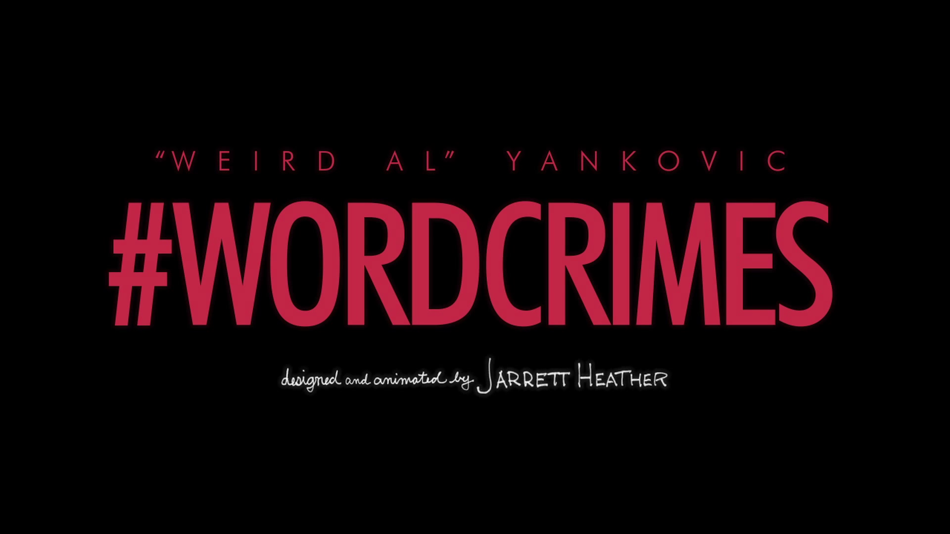 A quick critique of 'Word Crimes' by Weird Al Yankovic