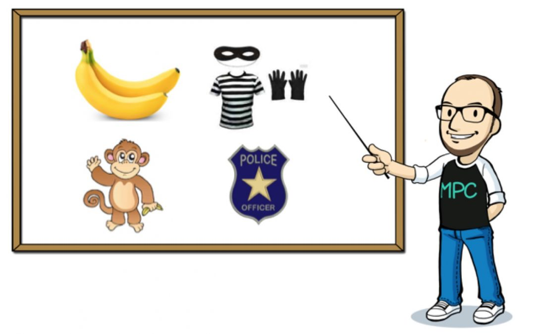 The banana stealing monkey police: All about ambiguity